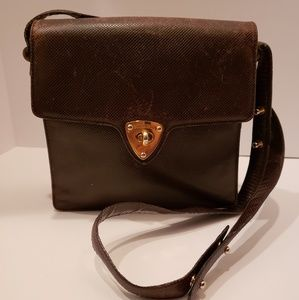 Bottega Veneta Bags - Bottega Veneta Brown Vintage Crossbody Bag